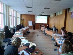 Работен состанок во бугарија prosocial values project